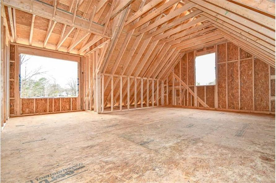 Bonus Room of this 3-Bedroom,2469 Sq Ft Plan -142-1166