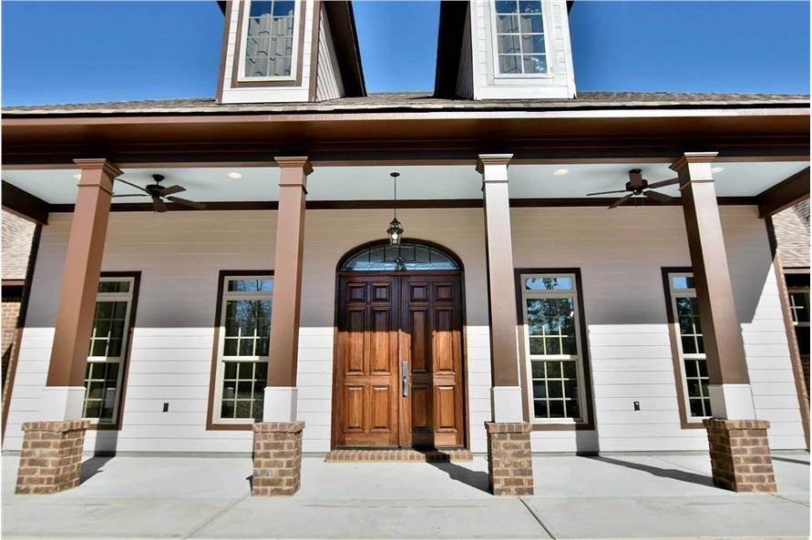 Front Door of this 4-Bedroom,3194 Sq Ft Plan -3194