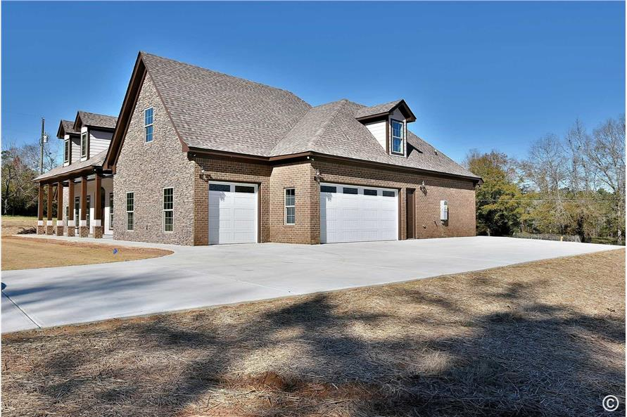 Garage of this 4-Bedroom,3194 Sq Ft Plan -3194