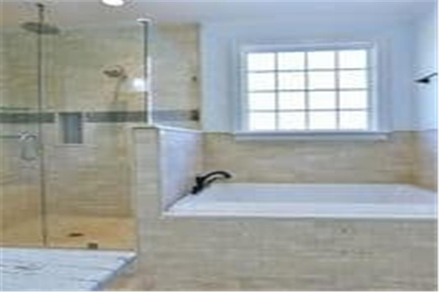 Master Bathroom of this 4-Bedroom,3194 Sq Ft Plan -3194
