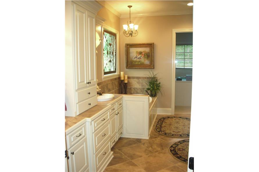 Master Bathroom of this 3-Bedroom,2597 Sq Ft Plan -142-1168