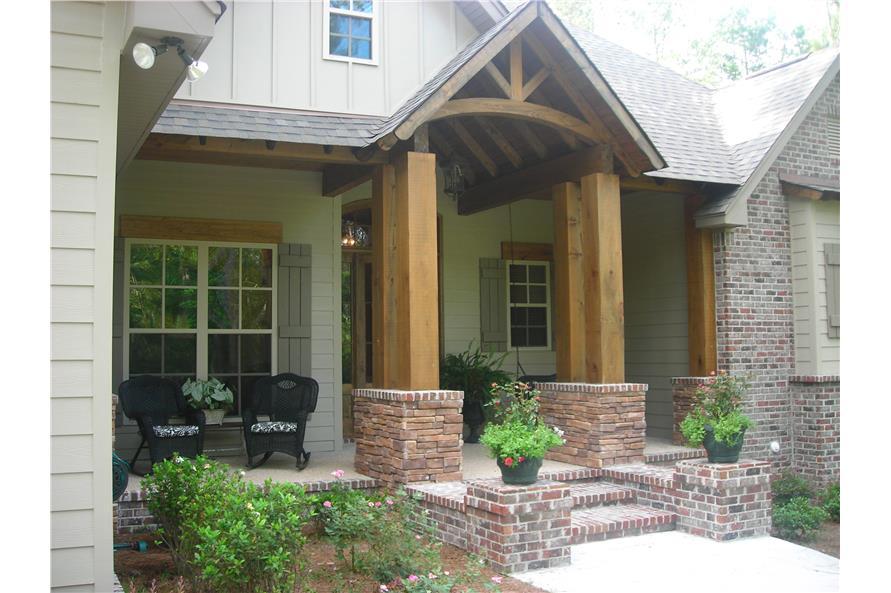 3 Bedrm 2597 Sq Ft Craftsman House Plan 142 1168
