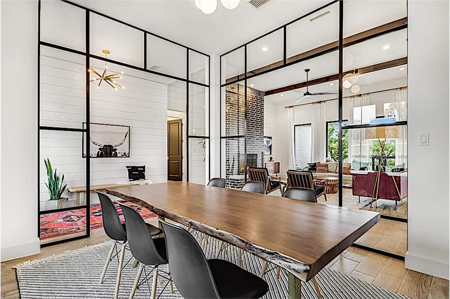 Dining Room of this 4-Bedroom,2686 Sq Ft Plan -2686