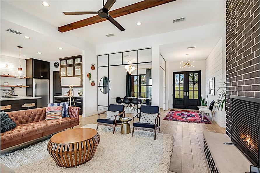 Family Room of this 4-Bedroom,2686 Sq Ft Plan -2686