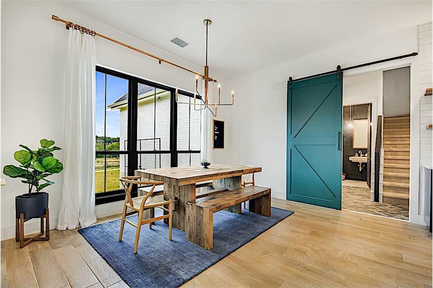 Kitchen: Breakfast Nook of this 4-Bedroom,2686 Sq Ft Plan -2686