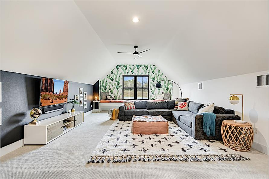 Media Room of this 4-Bedroom,2686 Sq Ft Plan -2686