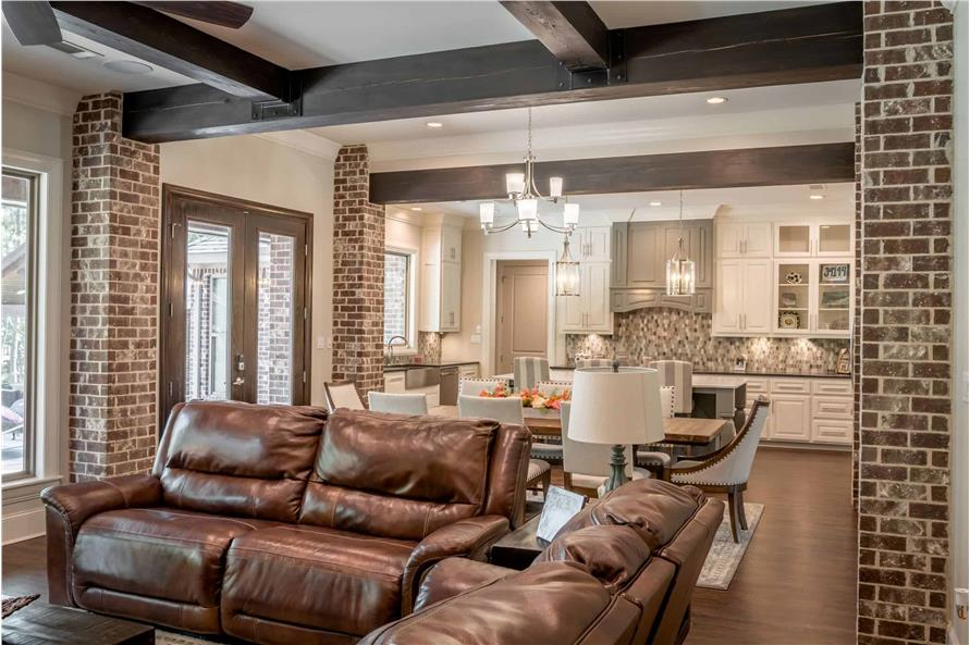 Great Room of this 3-Bedroom,2487 Sq Ft Plan -2487