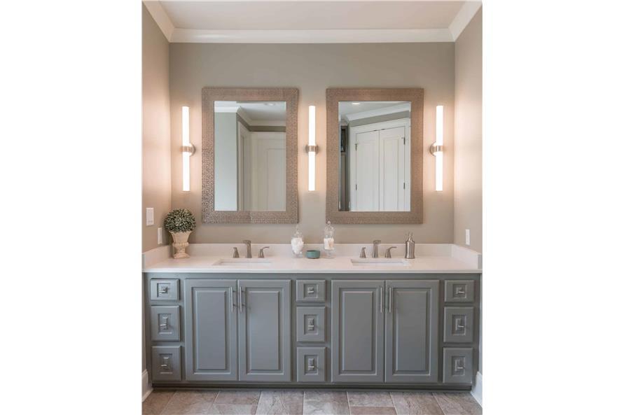 Master Bathroom: Sink/Vanity of this 3-Bedroom,2487 Sq Ft Plan -2487