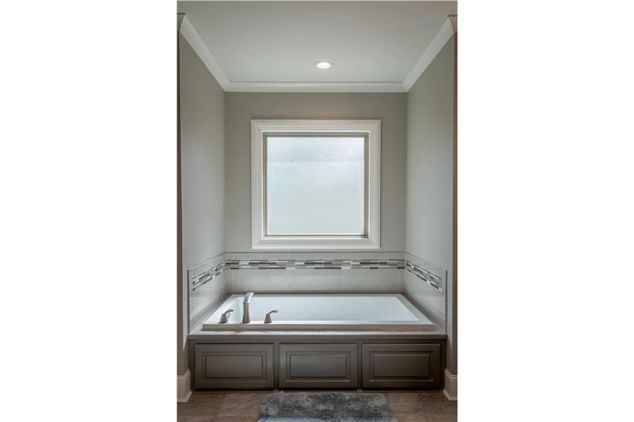 Master Bathroom: Tub of this 3-Bedroom,2487 Sq Ft Plan -2487