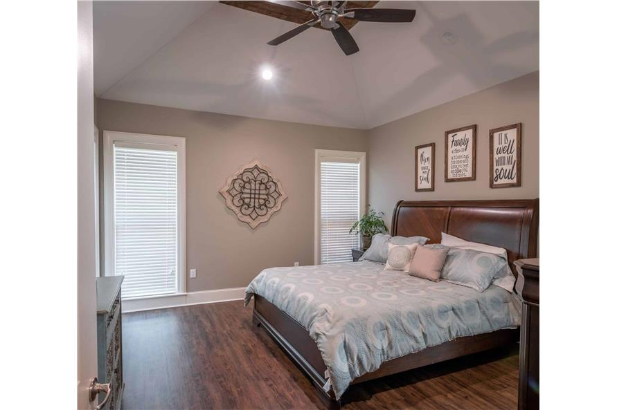 Master Bedroom of this 3-Bedroom,2487 Sq Ft Plan -2487