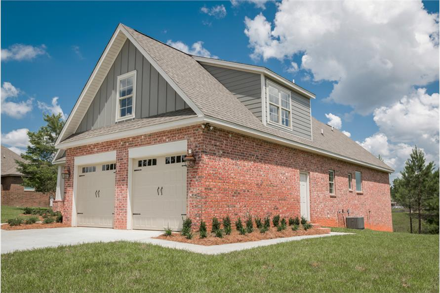 Side View of this 4-Bedroom,2329 Sq Ft Plan -2329