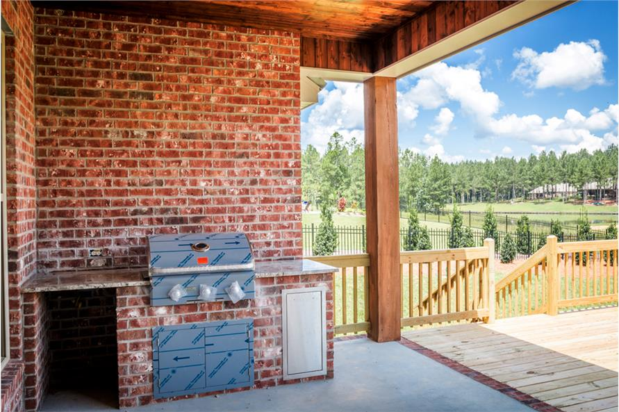Porch of this 4-Bedroom,2329 Sq Ft Plan -2329