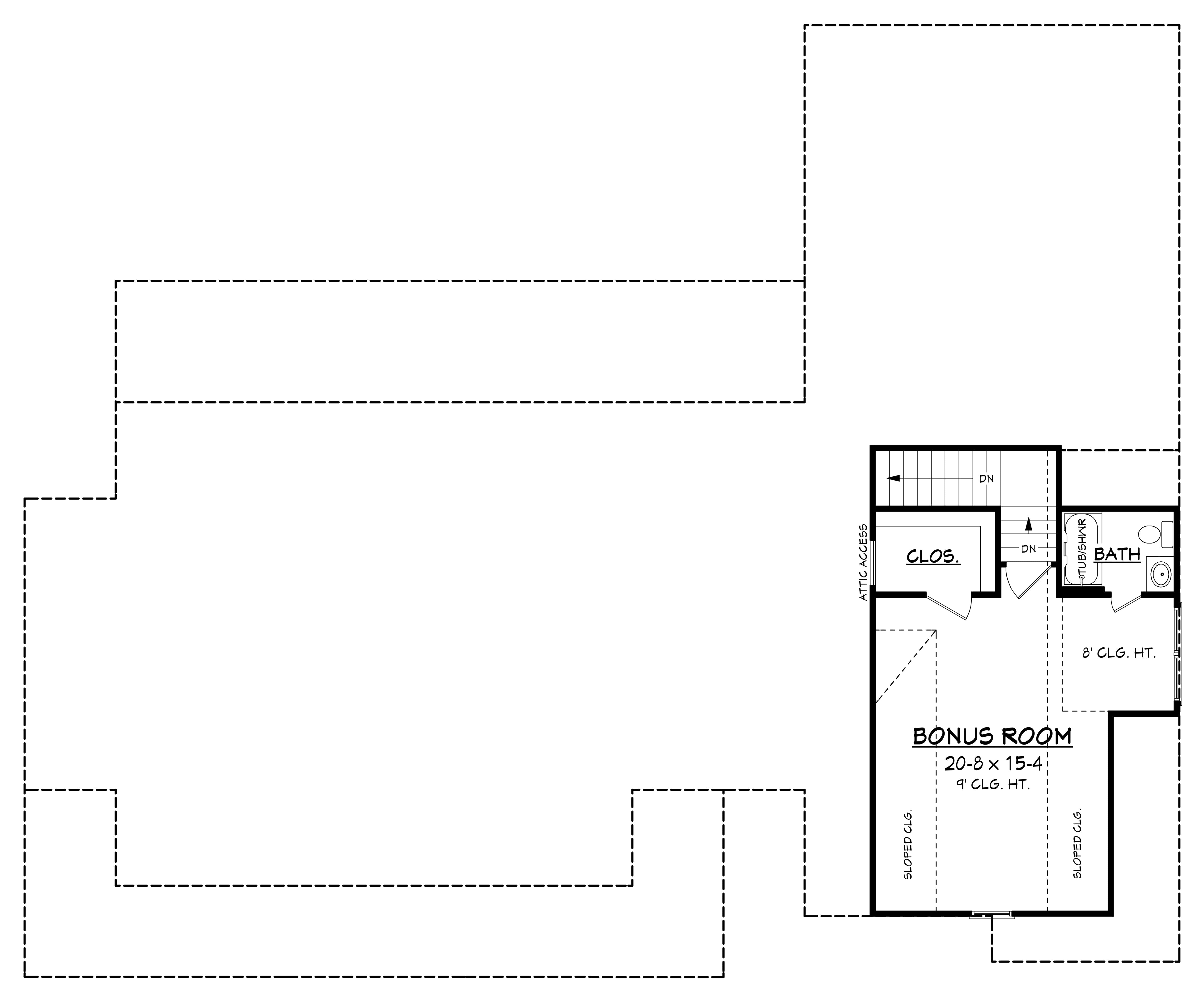 3 bedrm  2282 sq ft traditional house plan  142