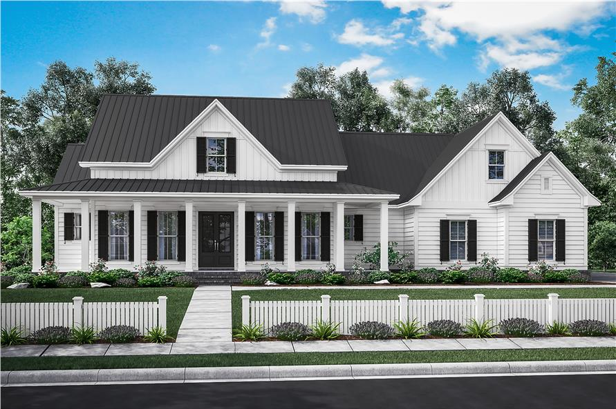 Attractive #142 1180 · 3 Bedroom, 2282 Sq Ft Traditional Home Plan   142 1180   Main Gallery