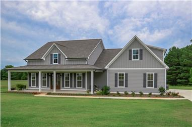 3-Bedroom, 2282 Sq Ft Traditional Home  - Plan #142-1180 - Main Exterior