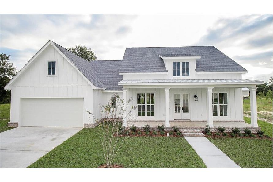 Porch of this 3-Bedroom,2077 Sq Ft Plan -2077