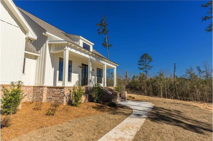Side View of this 3-Bedroom,2077 Sq Ft Plan -2077