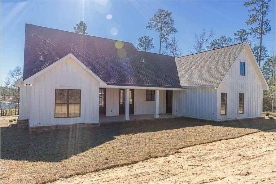 Rear View of this 3-Bedroom,2077 Sq Ft Plan -2077