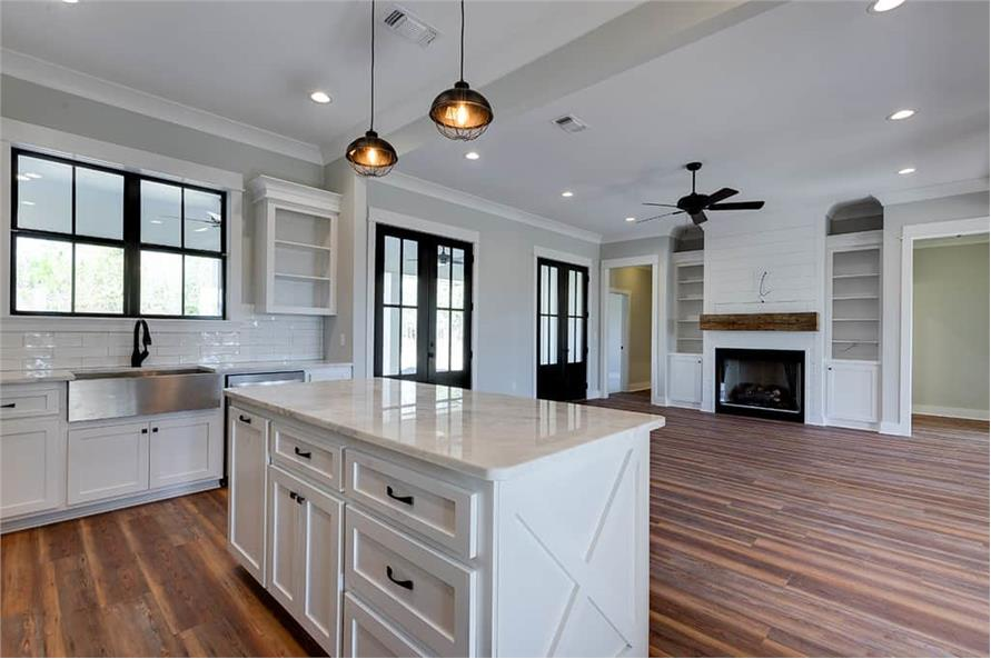 Kitchen of this 3-Bedroom,2077 Sq Ft Plan -2077