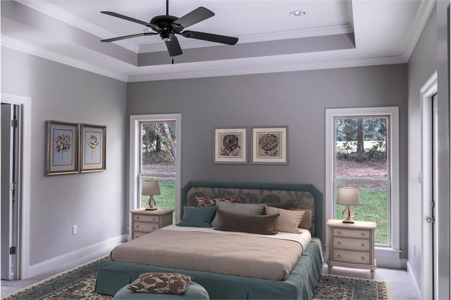 Master Bedroom of this 3-Bedroom,2239 Sq Ft Plan -2239