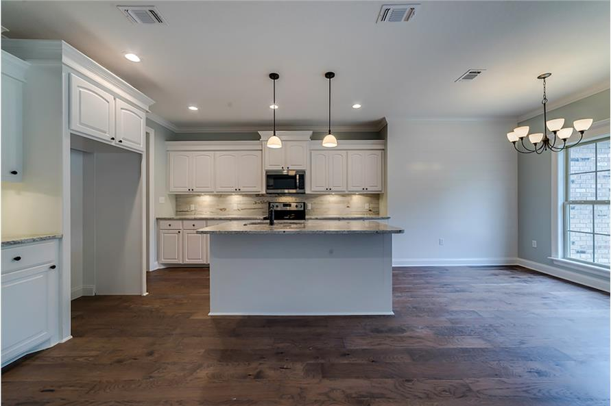 Kitchen of this 4-Bedroom,2053 Sq Ft Plan -2053