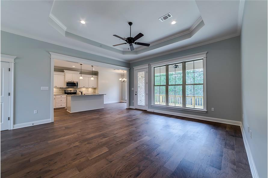 Great Room of this 4-Bedroom,2053 Sq Ft Plan -2053