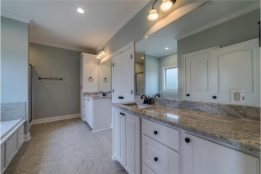 Master Bathroom of this 4-Bedroom,2053 Sq Ft Plan -2053
