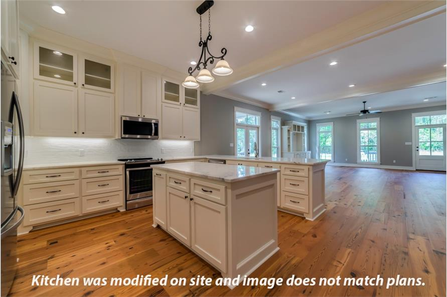 Kitchen of this 4-Bedroom,2219 Sq Ft Plan -2219