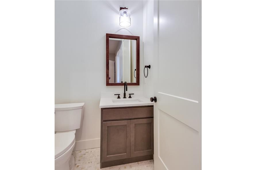 Powder Room of this 5-Bedroom,3311 Sq Ft Plan -3311