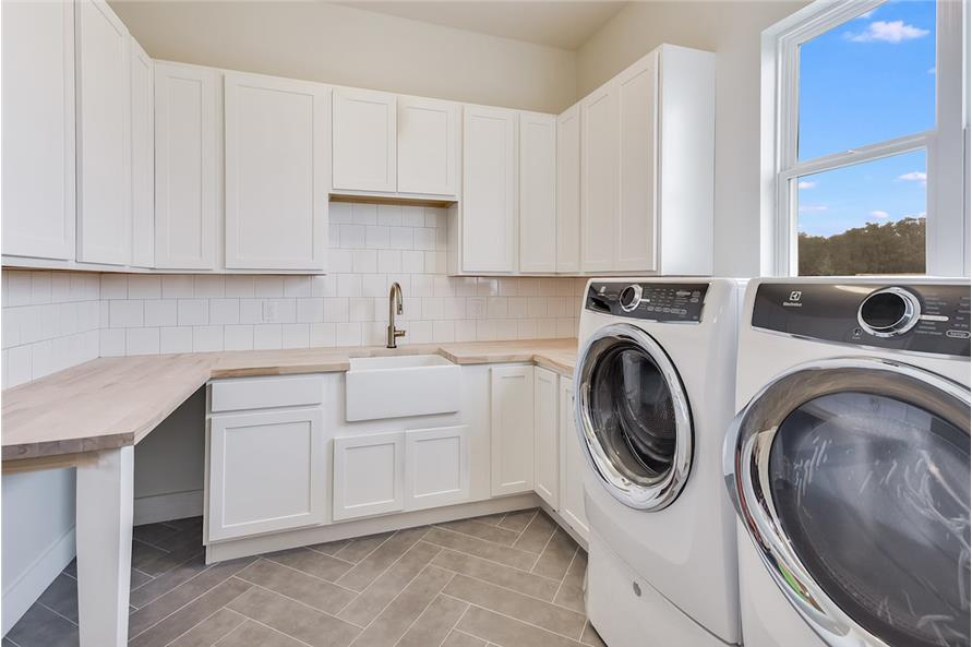 Laundry Room of this 5-Bedroom,3311 Sq Ft Plan -3311