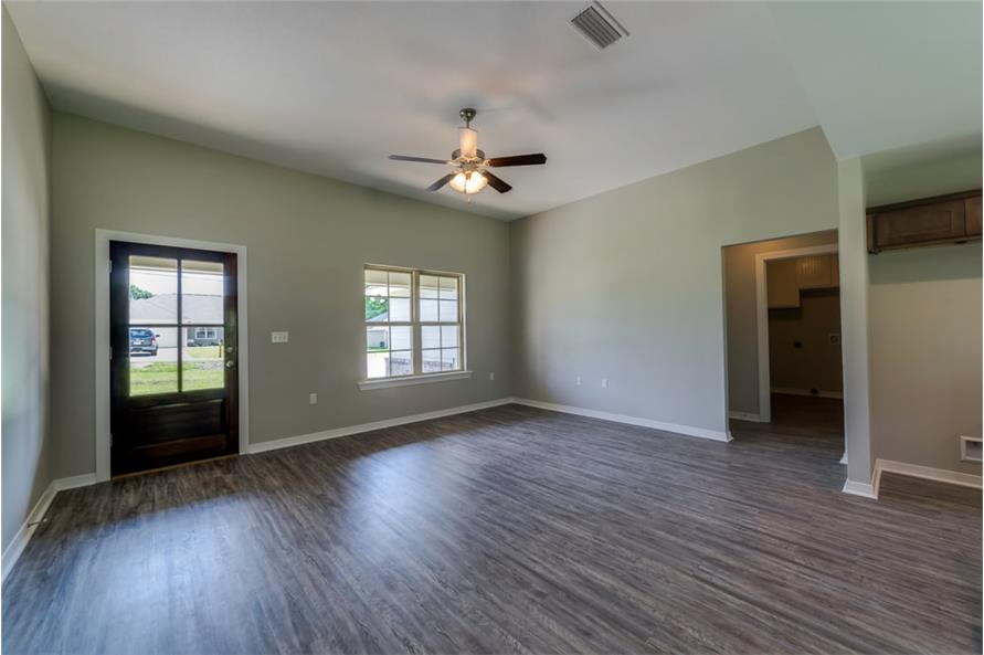 Great Room of this 3-Bedroom,1232 Sq Ft Plan -1232