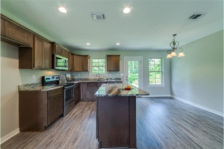 Kitchen of this 3-Bedroom,1232 Sq Ft Plan -1232