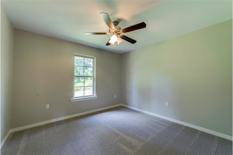 Bedroom of this 3-Bedroom,1232 Sq Ft Plan -1232