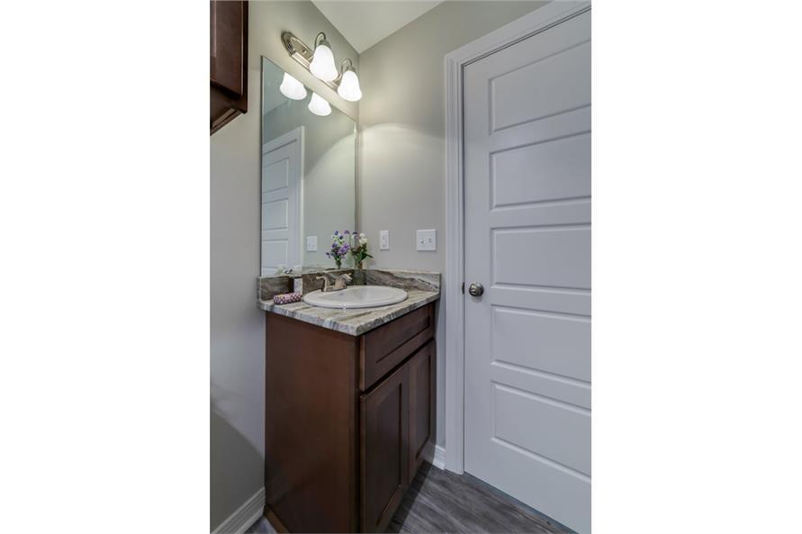 Bathroom of this 3-Bedroom,1232 Sq Ft Plan -1232