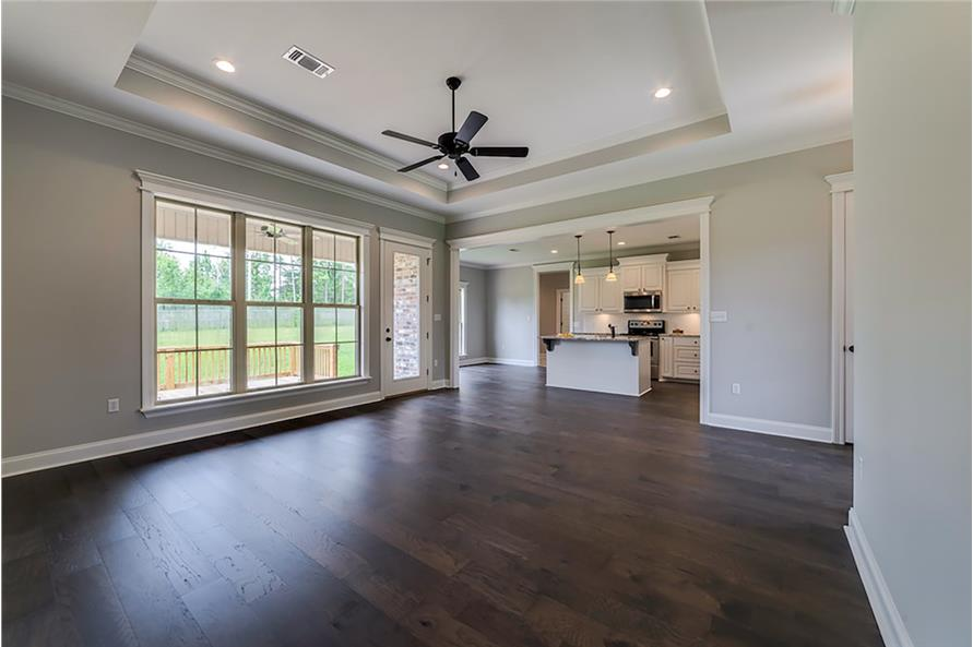 Great Room of this 4-Bedroom,1889 Sq Ft Plan -1889
