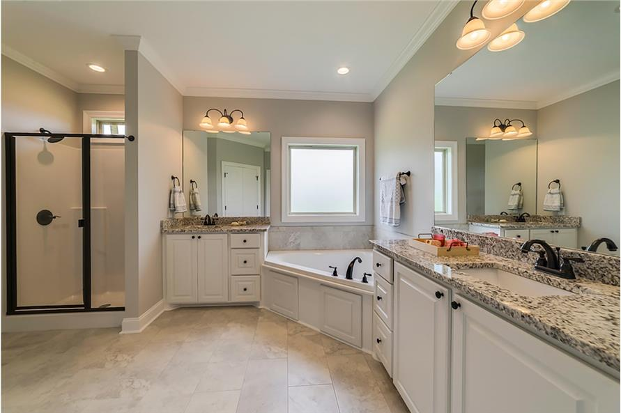 Master Bathroom of this 4-Bedroom,1889 Sq Ft Plan -1889