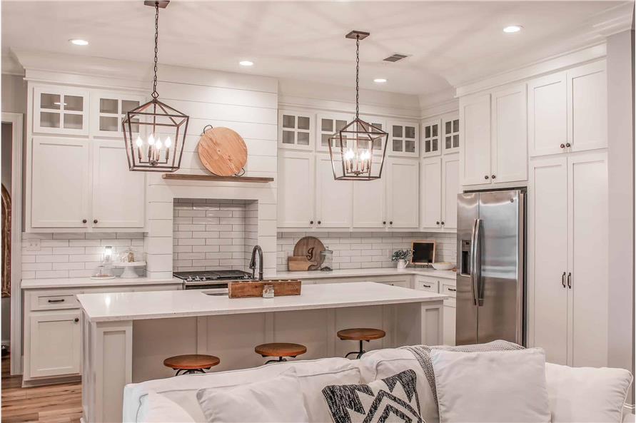 Kitchen: Kitchen Island of this 4-Bedroom,2373 Sq Ft Plan -2373