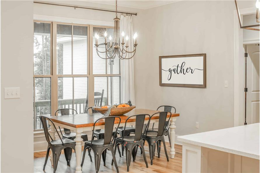 Dining Room of this 4-Bedroom,2373 Sq Ft Plan -2373