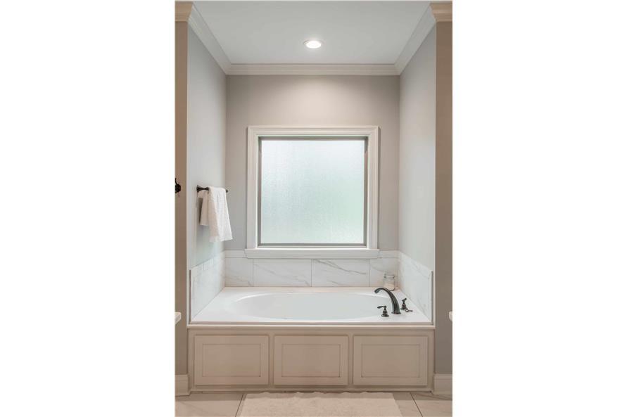 Master Bathroom: Tub of this 4-Bedroom,2373 Sq Ft Plan -2373
