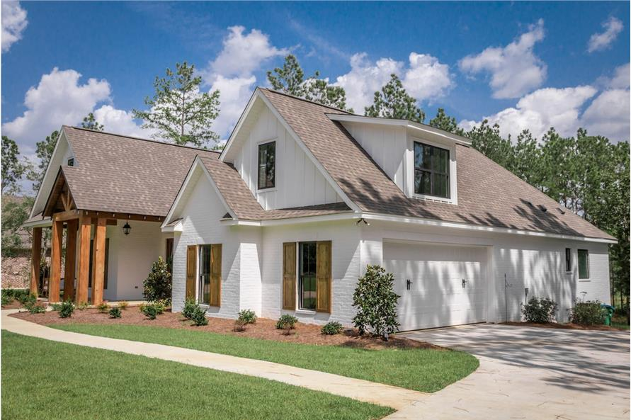 Home Exterior Photograph of this 4-Bedroom,2373 Sq Ft Plan -142-1204
