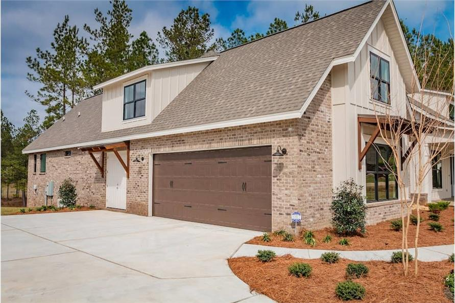 Side View of this 3-Bedroom,2652 Sq Ft Plan -2652