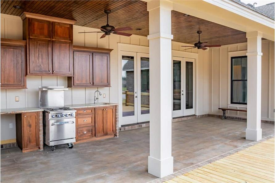 Porch of this 3-Bedroom,2652 Sq Ft Plan -2652