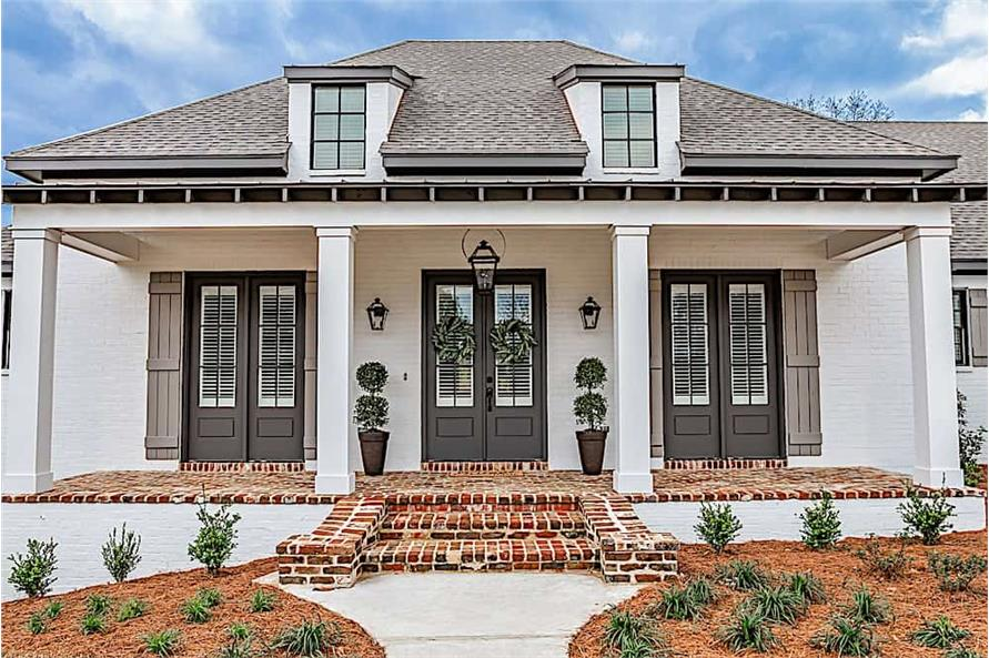 Front Door of this 3-Bedroom,2854 Sq Ft Plan -2854