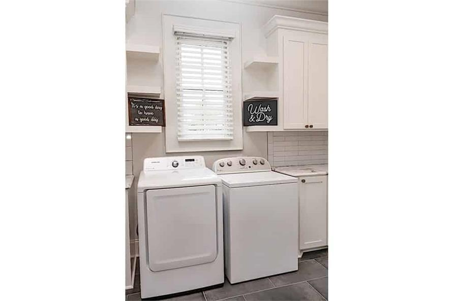 Laundry Room of this 3-Bedroom,2854 Sq Ft Plan -2854