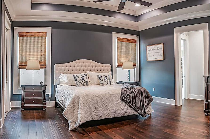 Master Bedroom of this 3-Bedroom,2854 Sq Ft Plan -2854