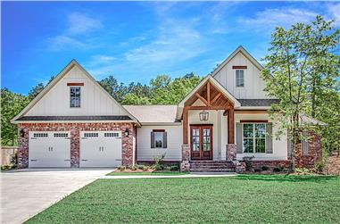 4-Bedroom, 2281 Sq Ft Farmhouse House - Plan #142-1212 - Front Exterior
