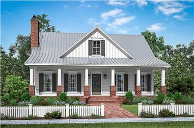 4-Bedroom, 2533 Sq Ft Farmhouse House - Plan #142-1214 - Front Exterior