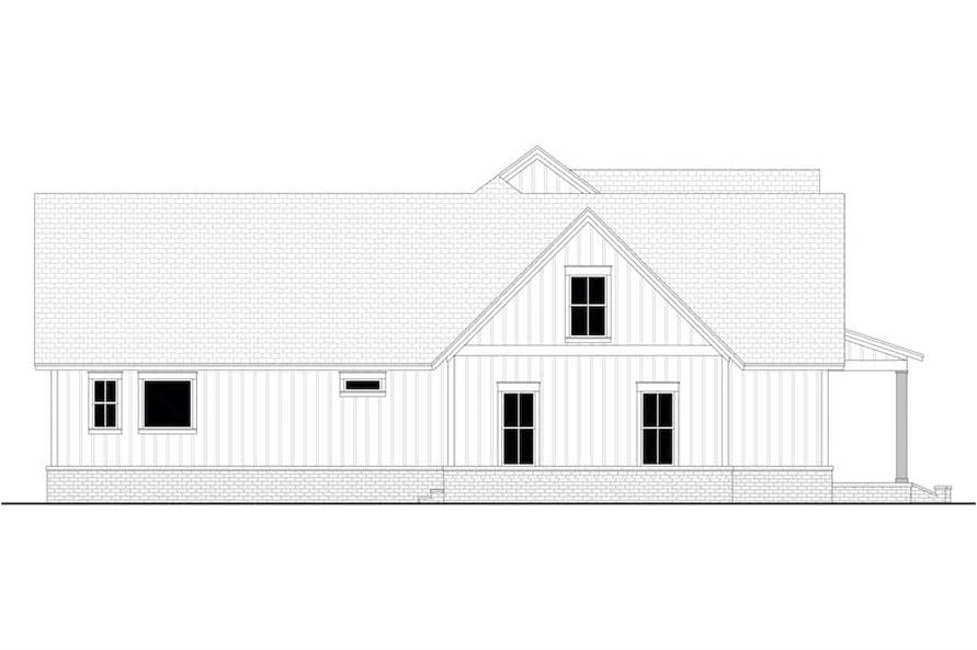 142-1224: Home Plan Left Elevation