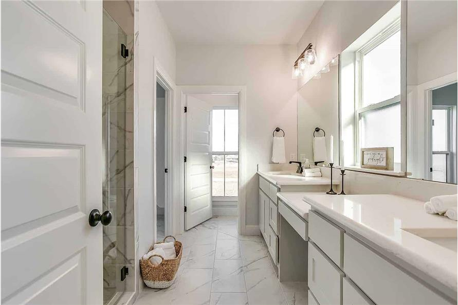 Master Bathroom of this 4-Bedroom,2390 Sq Ft Plan -142-1231