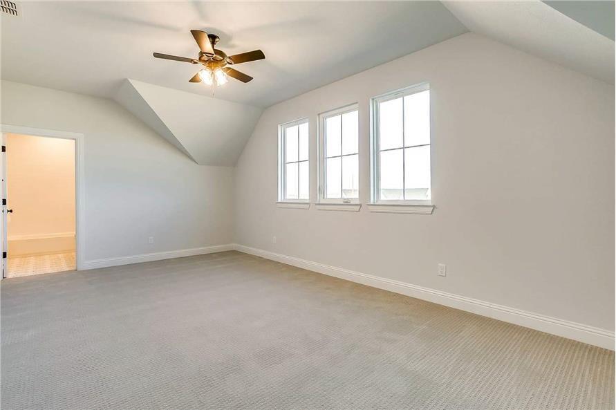 Bonus Room of this 4-Bedroom,2390 Sq Ft Plan -142-1231